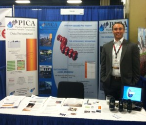 PICA Booth at No-Dig